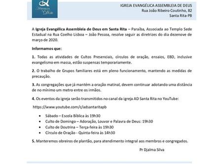 NOTA OFICIAL - AD SANTA RITA PB