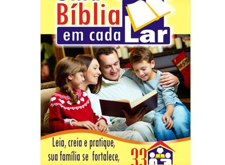 Participe você também do Projeto Uma Bíblia em Cada Lar