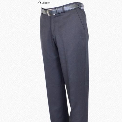 Berle Microfiber Long Rise Trousers