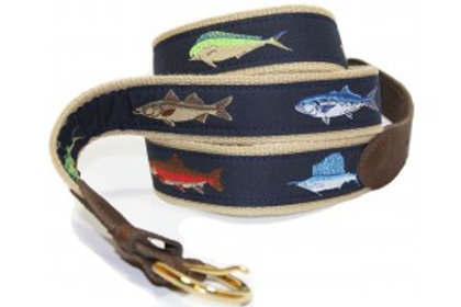Woven Ribbon Game Fish Belt