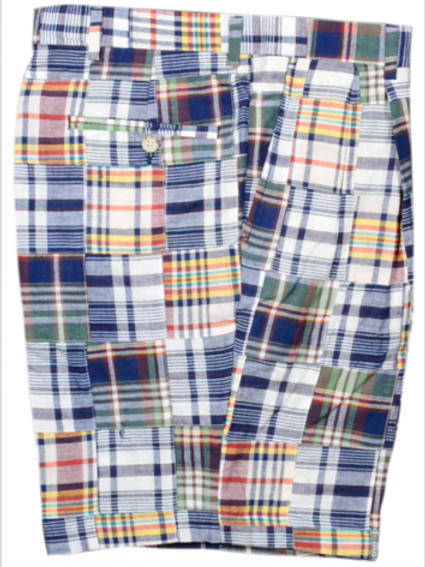 Berle Patch Indian Madras Trousers