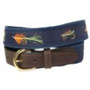 Woven Ribbon Fishing Fly Belt