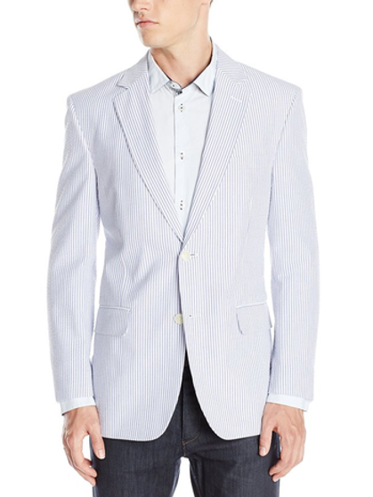 PALM BEACH Seersucker Suit Separate Jacket
