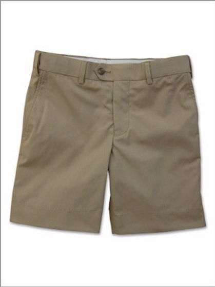 Kenneth Morton 100% Cotton Twill Short trim cut