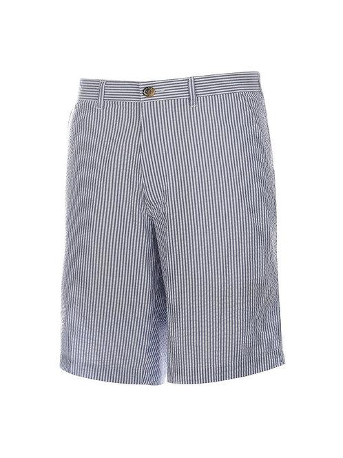 Men's Nassau Flat Front Seersucker Short