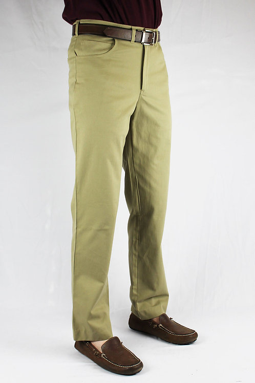 All American Khakis Five Pocket Jean Front Pockets