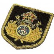 Blazer Patch Admiral's Shield