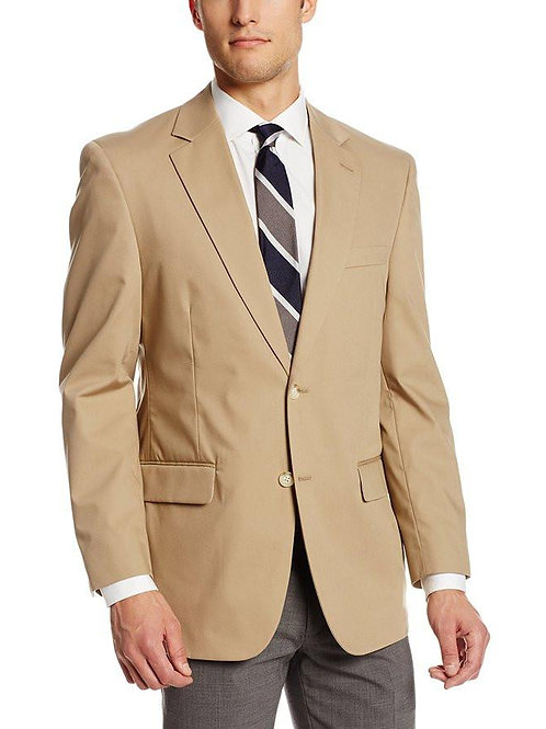 PALM BEACH Khaki Poplin Suit Separate Jacket