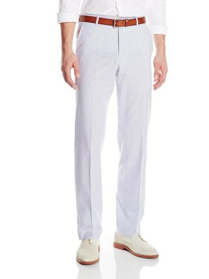 "PALM BEACH ""Original"" Seersucker Flat Front Pant"