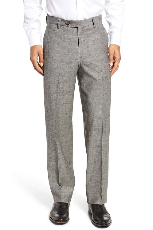 Berle Glenn Plaid Worsted Wool Stretch