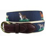Woven Ribbon Hunting Dogs Belt