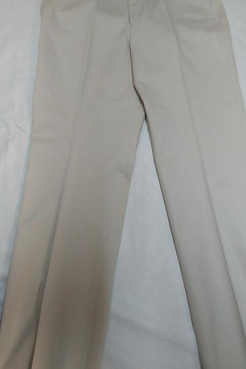 Kenneth Morton cotton twill trim cut trousers