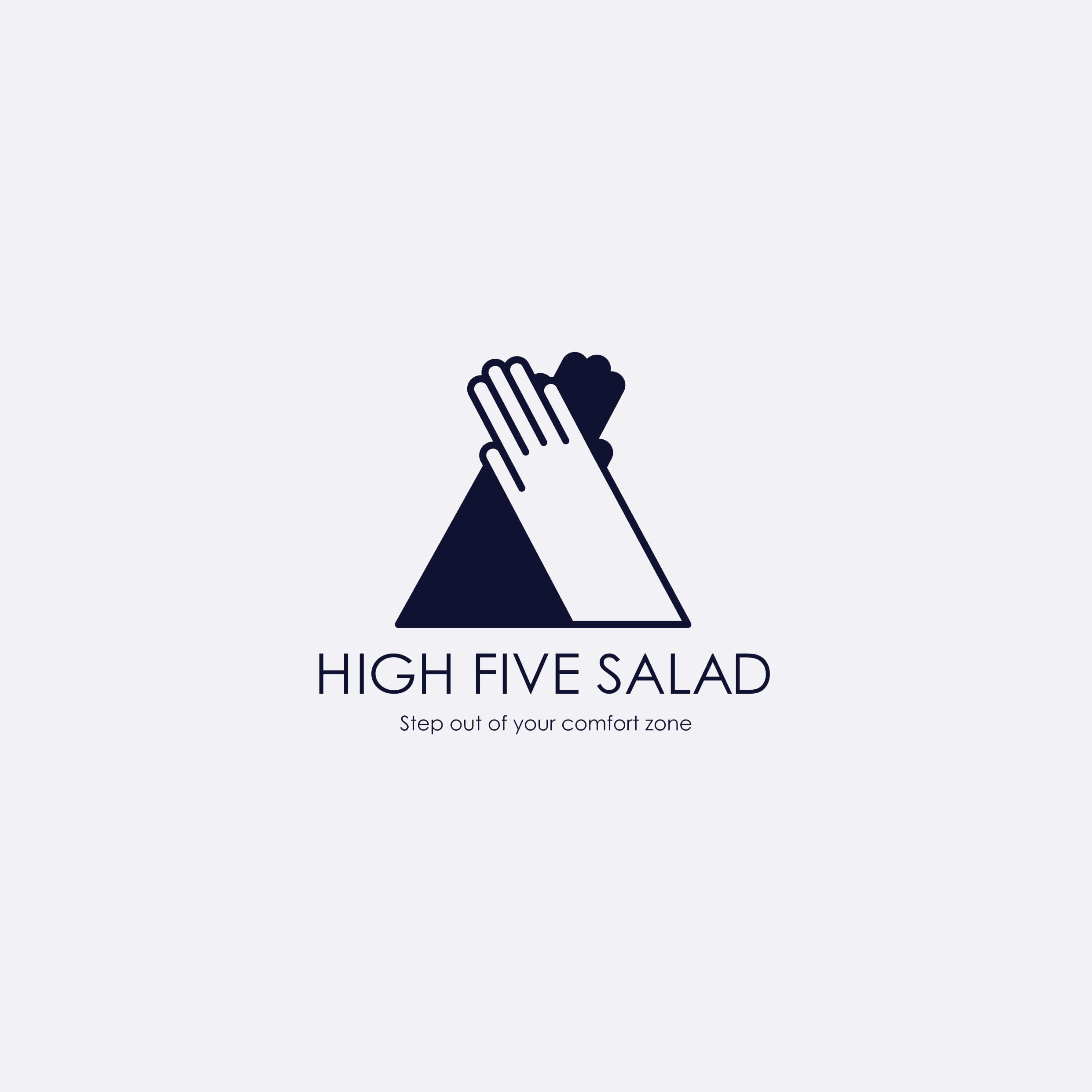 【HIGH FIVE SALAD】シンボルマーク(2018)