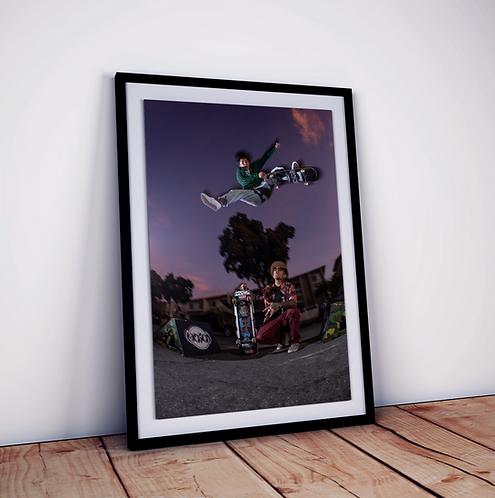 Skateboard Photo Art