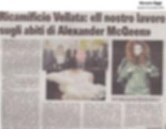 Ricamificio Vellata per Alexander McQueen