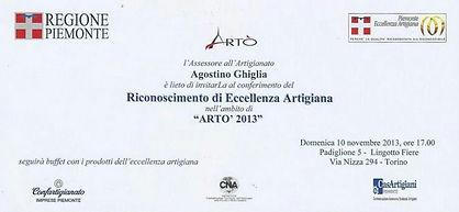 Riconoscimento Eccellenza Artigiana Made in Italy