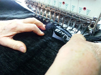 Lavoro macchina da cucire