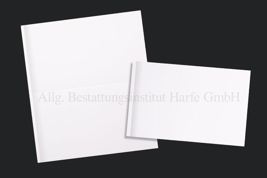 Trauerdrucksachen «Grauer Schattenrand»