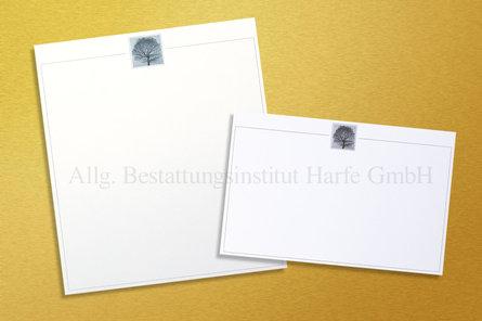 Trauerdrucksachen «Abendstille»*