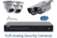 FLIR analog security cameras