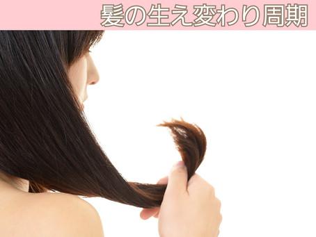 髪が切れやすい?抜けやすい?