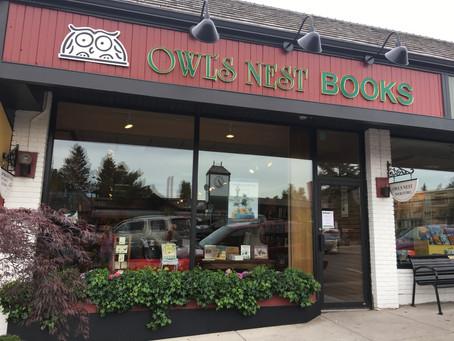 Owl's Nest Bookstore!