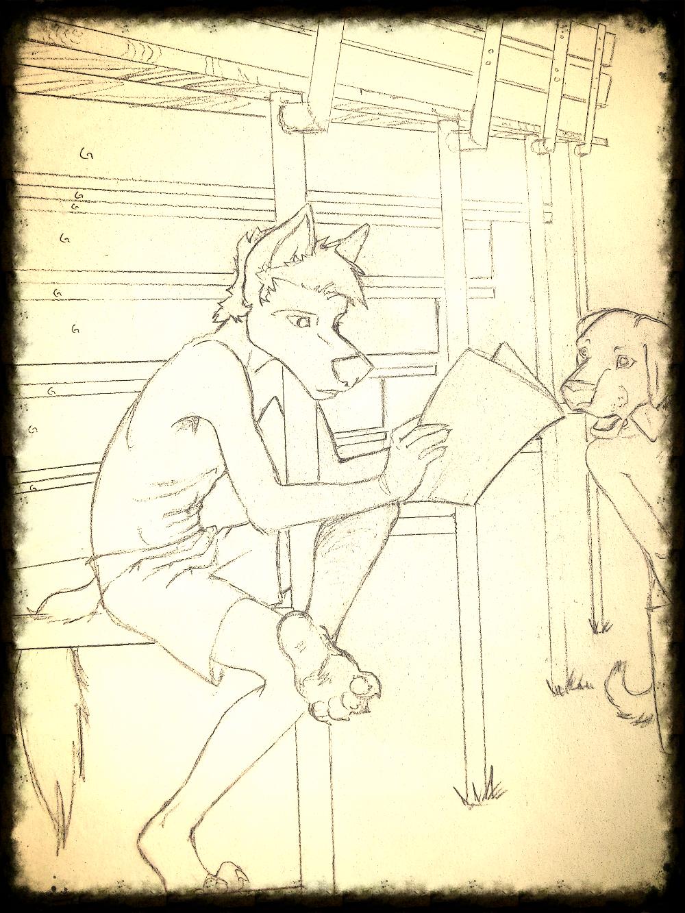 Jes readin'...
