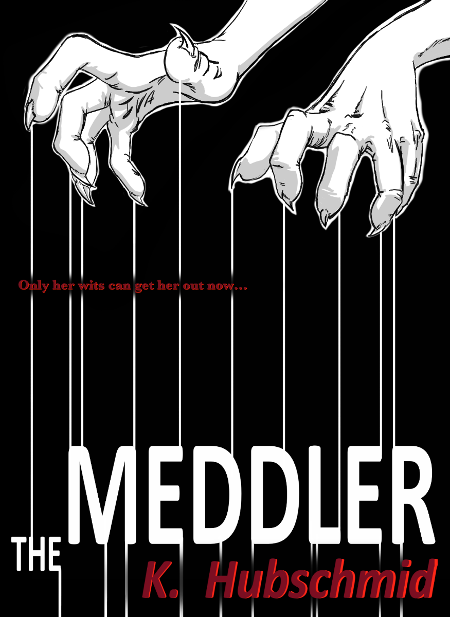 Current 'The Meddler' cover design