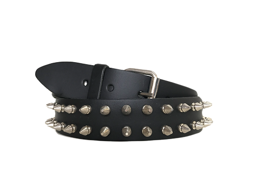 2 rows Spike Studded Belt