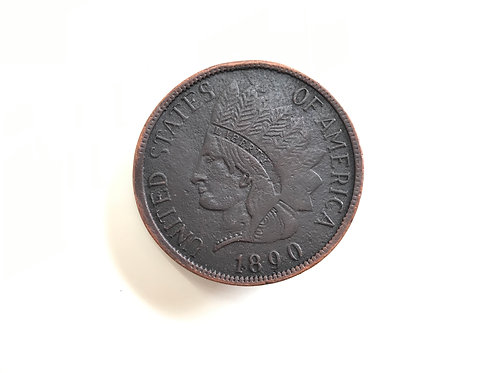 One Cent Coin Buckle