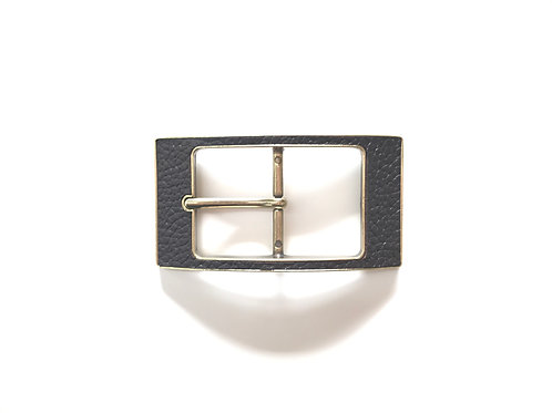 Faux Leather Buckle