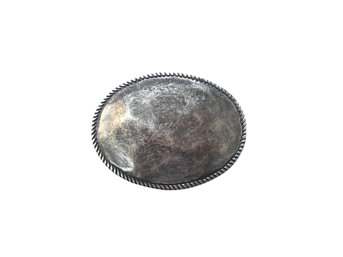 Old Silver Oval Buckle