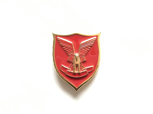 Red Pegasus Buckle