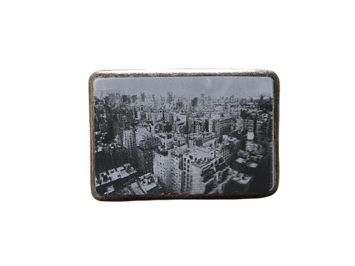 Town Picture Buckle
