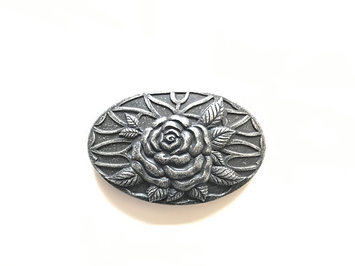 Oval Rose Buckle