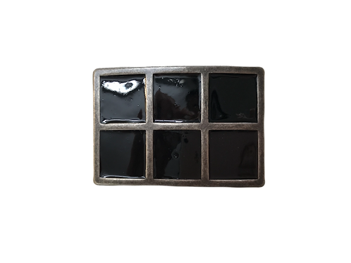 Shiny Squares Buckle