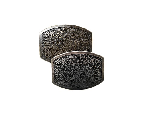 Floral Pattern Buckles