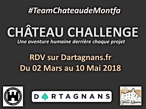 château challenge #TeamChateaudeMontfa