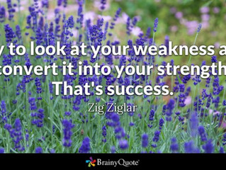 Your Weaknesses Are Your Biggest Strength