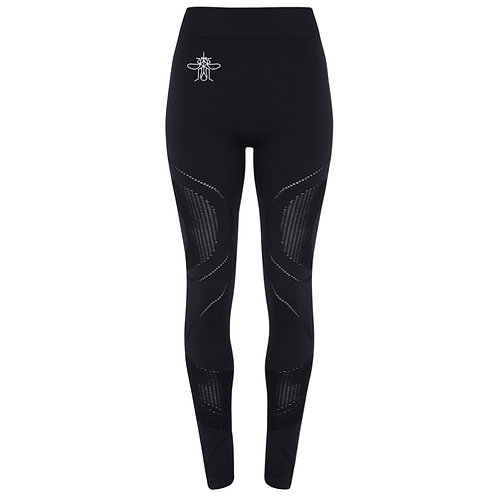 Mosquito women's seamless '3D fit' leggings