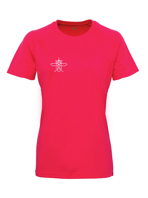 Mosquito Women's Panelled Training T-shirt Pink