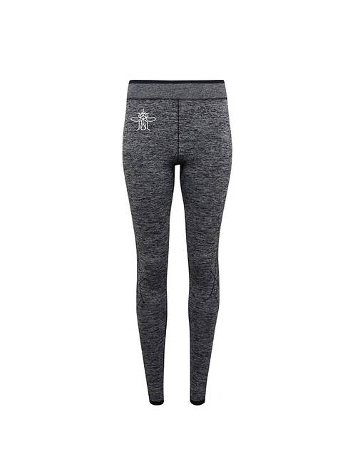 Mosquito 3D Fit Charcoal Leggings