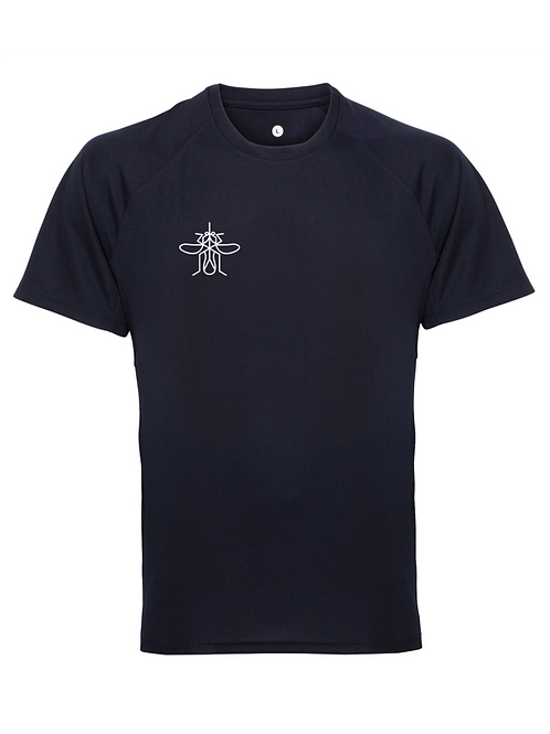 Men's Panelled Training T-shirt Navy