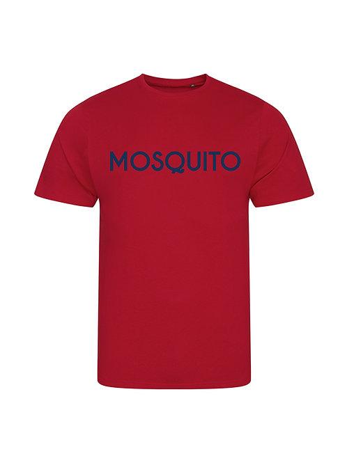 Mosquito men's organic t-shirt Red