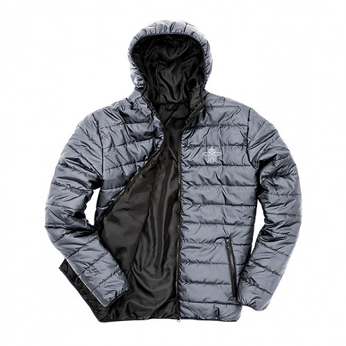 Mosquito Forest Grey Padded Jacket