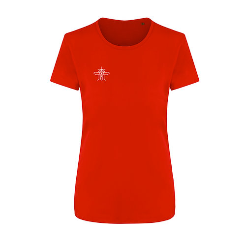 Women's Eco Training T-shirt Red