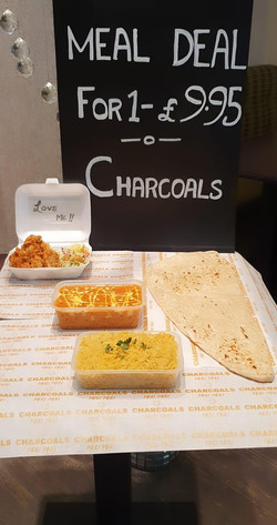 Charcoals Meal Deal