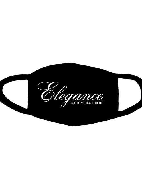 Elegance Custom Embroidered Cotton Face Mask