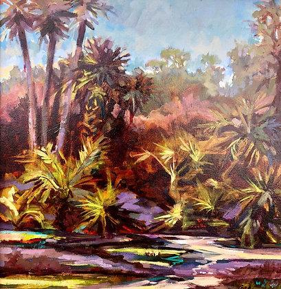 Palm Reading 18 x 18