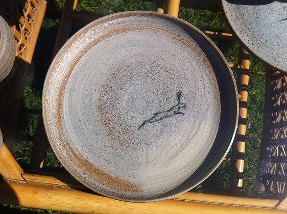 Original Hare's Dinner Plate